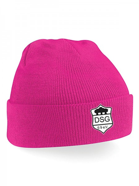 DSG Junior Cuffed Beanie pink