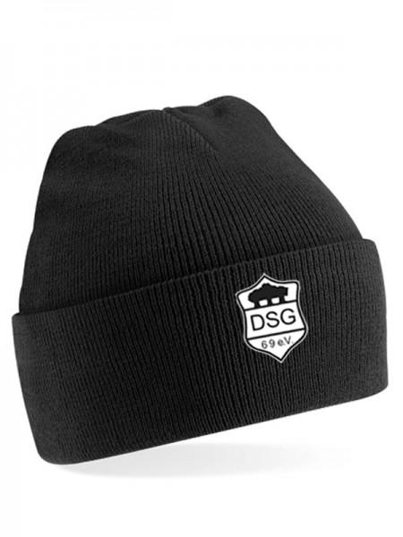 DSG Junior Cuffed Beanie schwarz