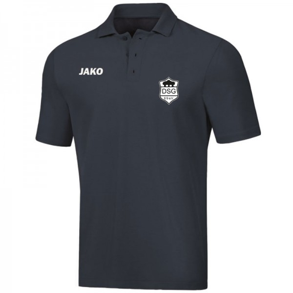 JAKO DSG Kinder Polo Base anthrazit