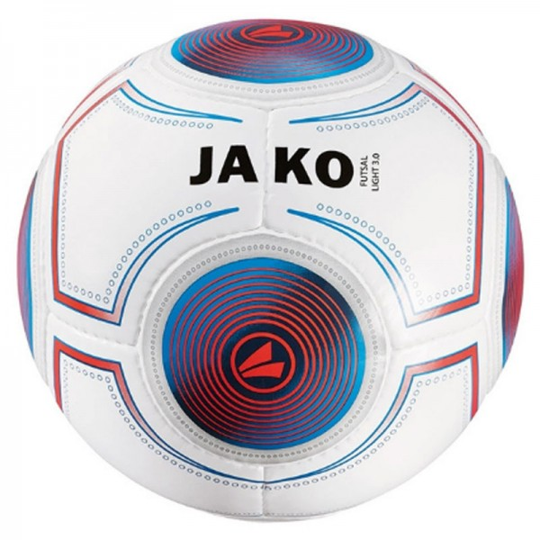 JAKO Ball Futsal Light 3.0 Gr. 4 360g weiß/blau/flame