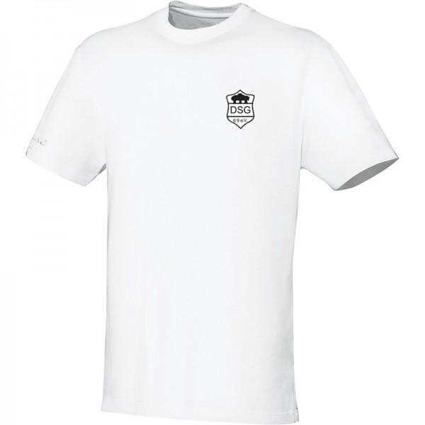 JAKO SG Druffel Herren T-Shirt Team weiß