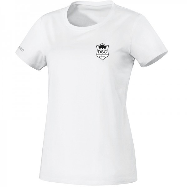 JAKO SG Druffel Damen T-Shirt Team weiß